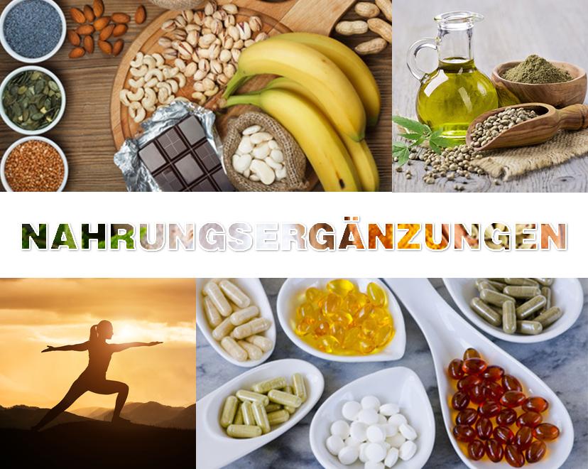 Nahrungsergänzung-Kategorien