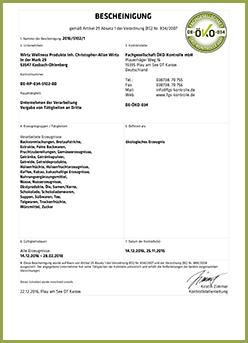 Öko- und EG-Bio-Siegel
