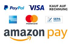 Akzeptierte Zahlungsarten